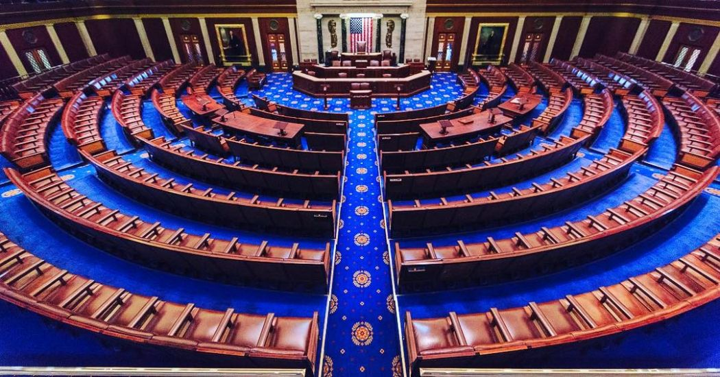 United States US House of Representatives Chamber