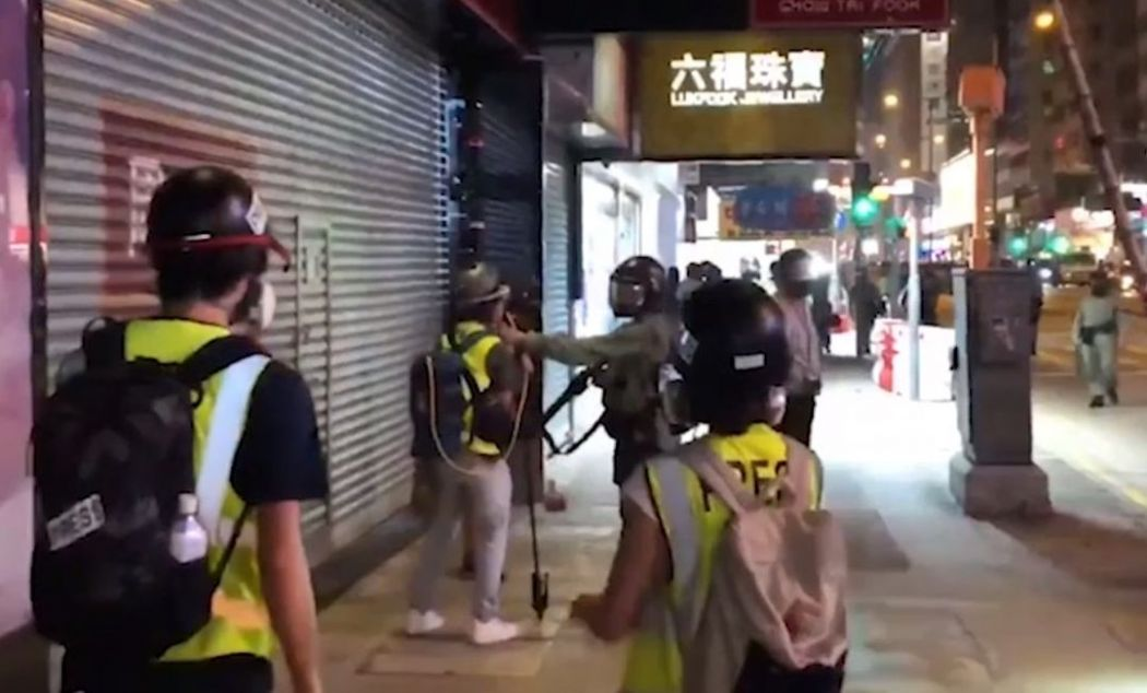 rthk police gas mask