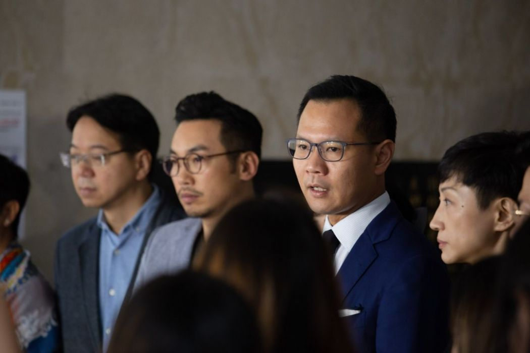 dennis kwok high court mask ban china extradition
