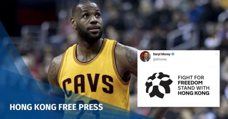 LeBron James Daryl Morey NBA China Fight for Freedom