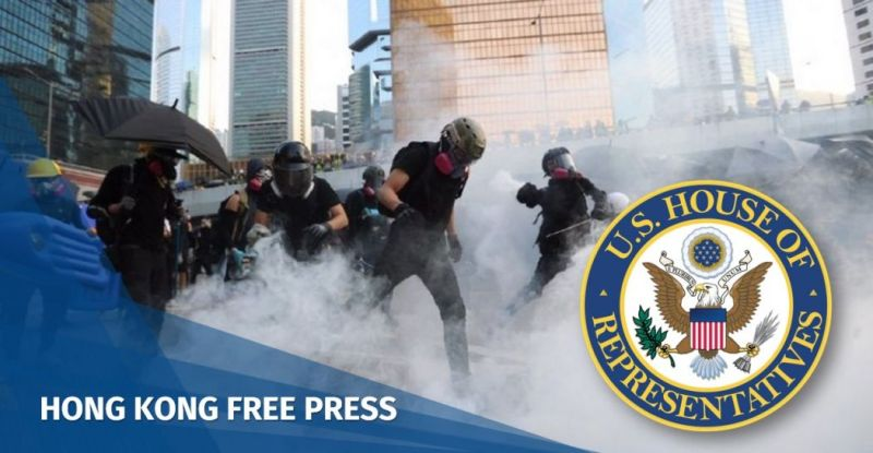 Hong Kong human rights democracy act US united states house of representatives
