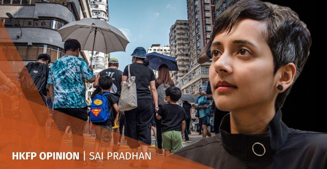 Sai Pradhan Hong Kong protests