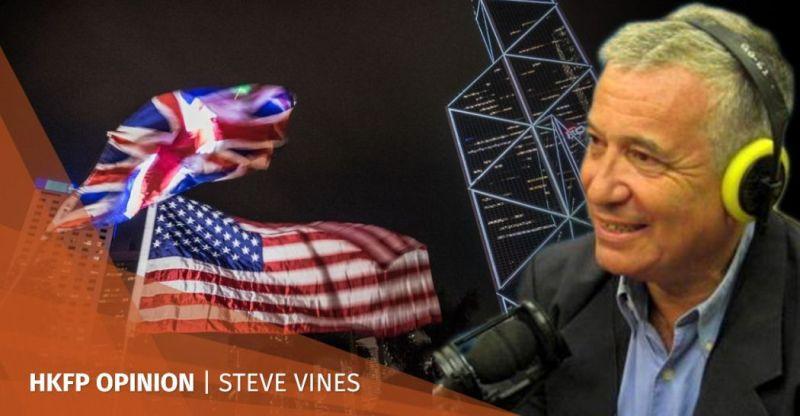 Steve Vines internationalism foreign interference Hong Kong protests