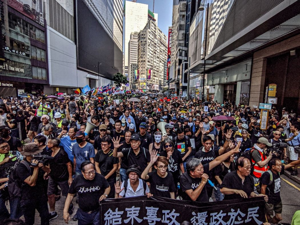 October 1 china extradition march