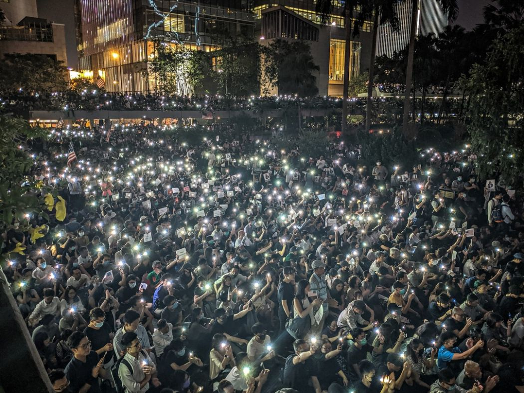 October 14 chater garden rally US human rights and democracy act