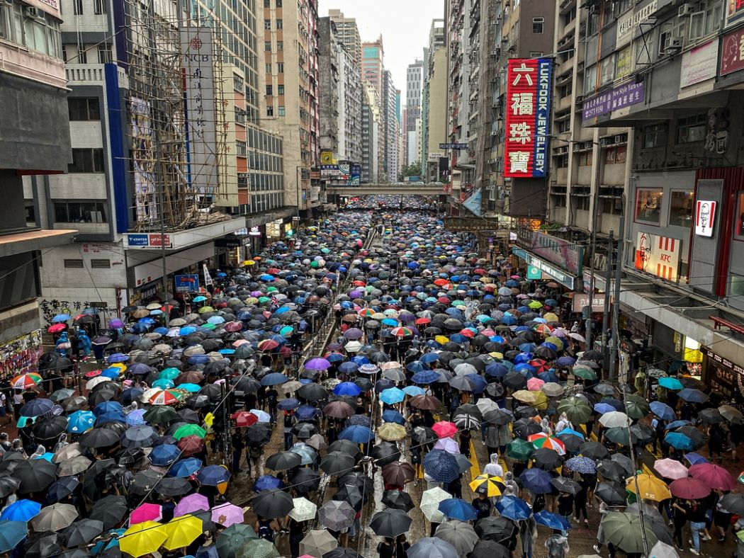 October 6 mask ban protest china extradition
