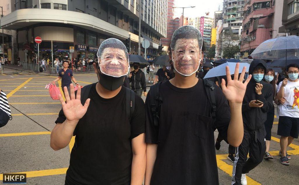 Tsim Sha Tsui october 12 Xi Jinping