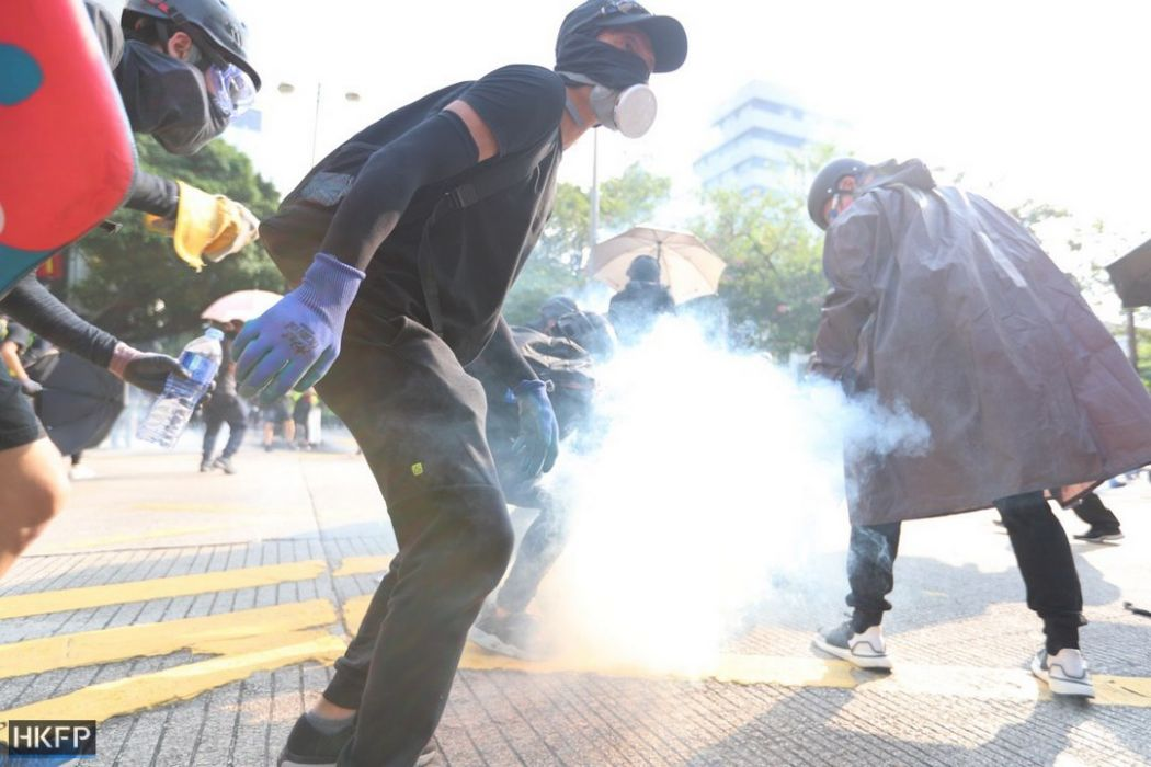 tear gas october 20 kowloon