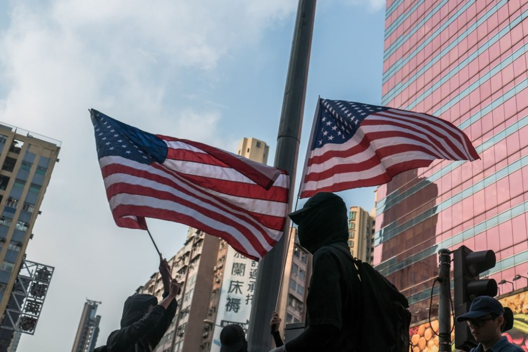usa October 12 mask ban china extradition protest
