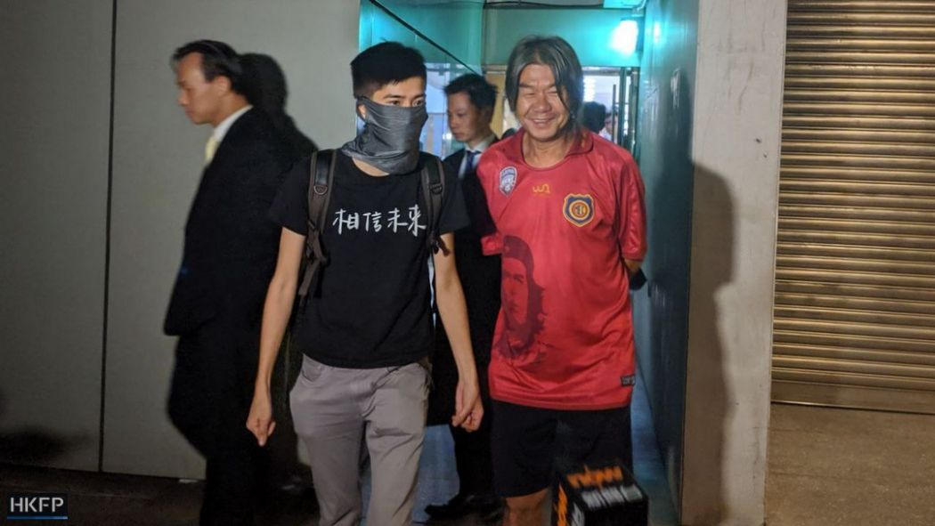 mask ban Lester Shum and Leung Kwok-hung