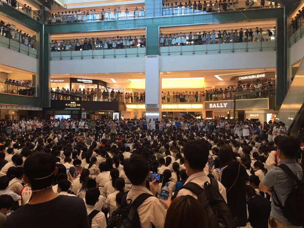 Shatin protest