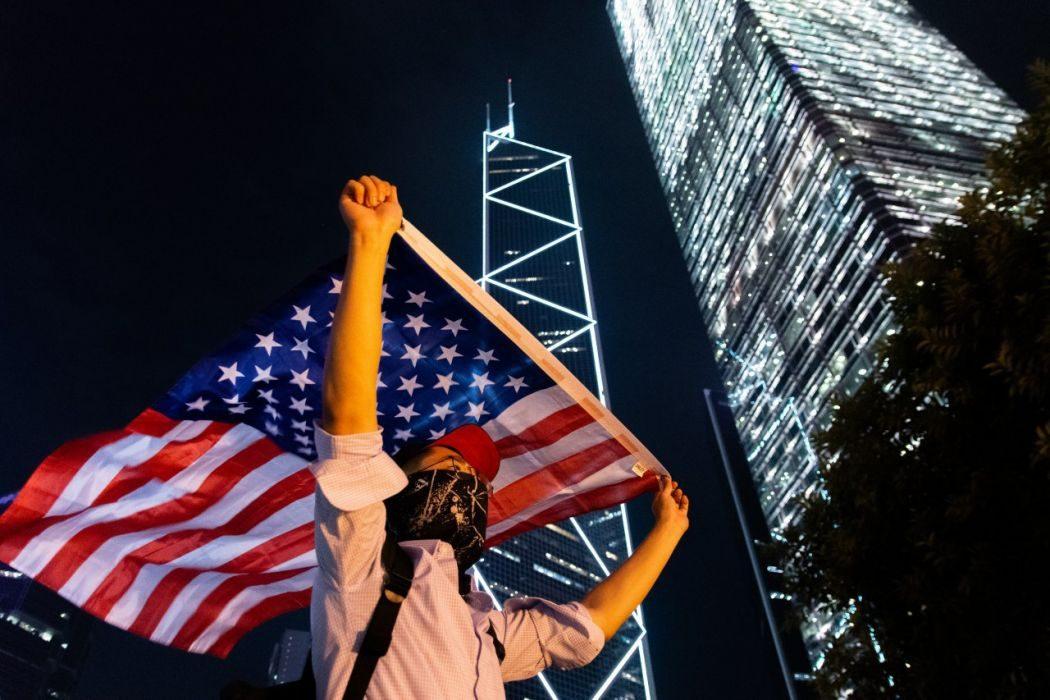 October 14 US rally Hong Kong Human Rights Democracy Act Chater Garden
