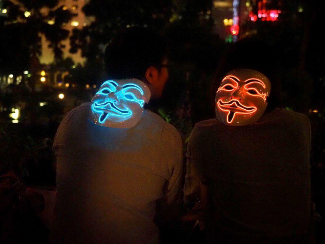 """""""October 25"""" Catalan Catalunya Catalonia rally Chater Garden solidarity Hong Kong protests"""