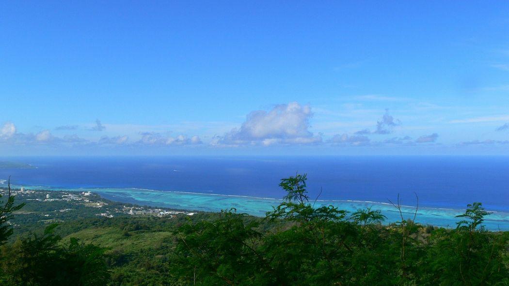 Saipan island beach
