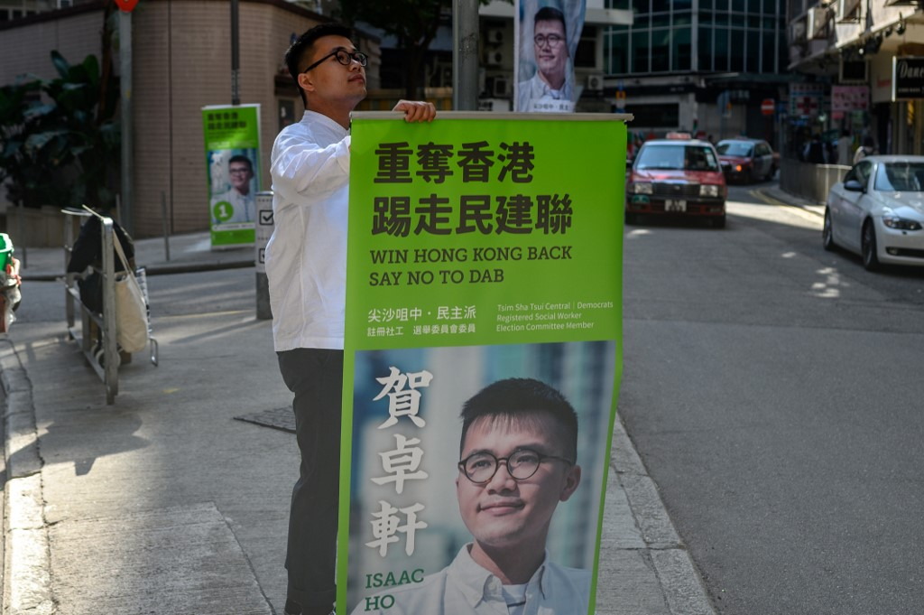 Hong Kong district council Isaac Ho Tsim Sha Tsui