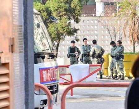 riot police sam shing