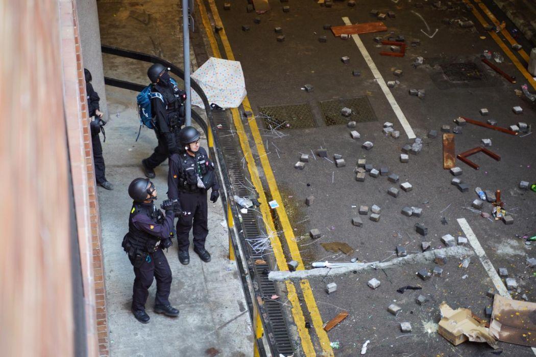 Explosive Ordnance Disposal Bureau officers PolyU