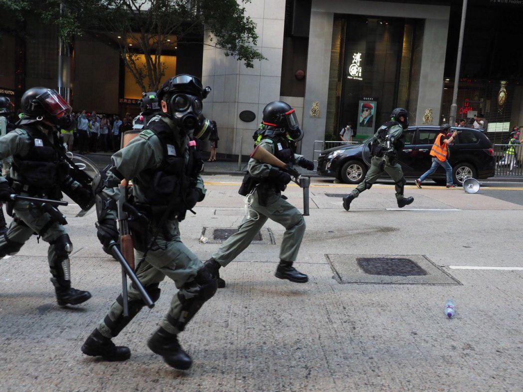 riot police arrest november 11