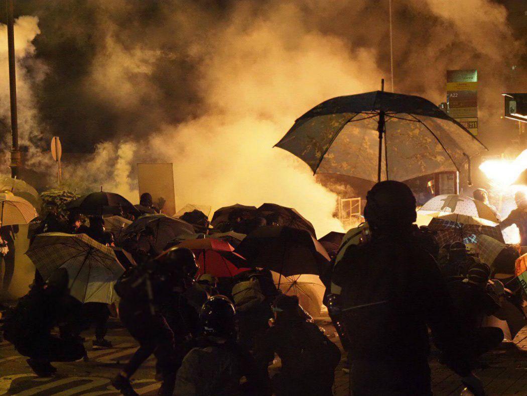tear gas Jordan 18 November 1ar