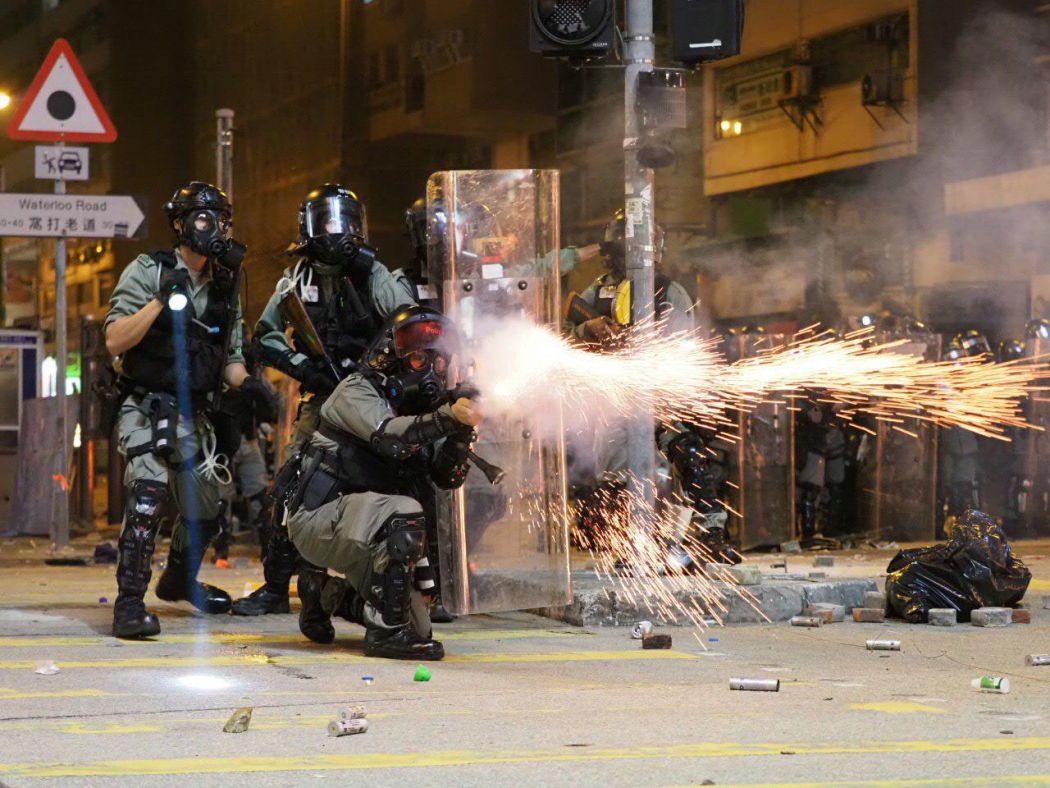 tear gas Jordan 2 November 18