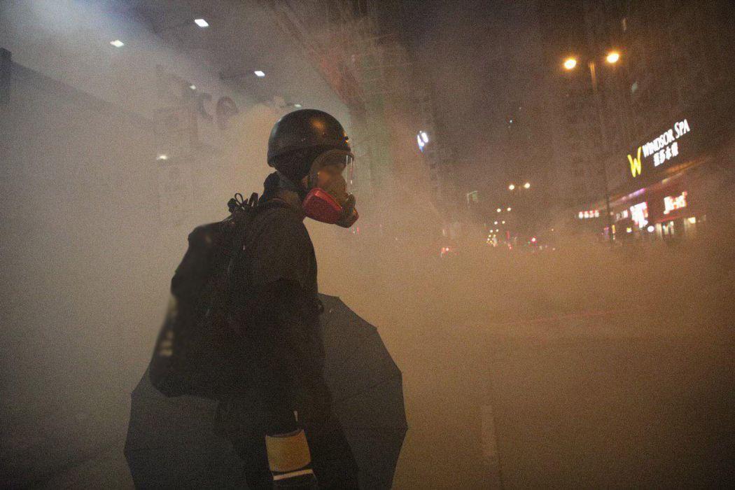 tear gas Yau Ma Tei november 11