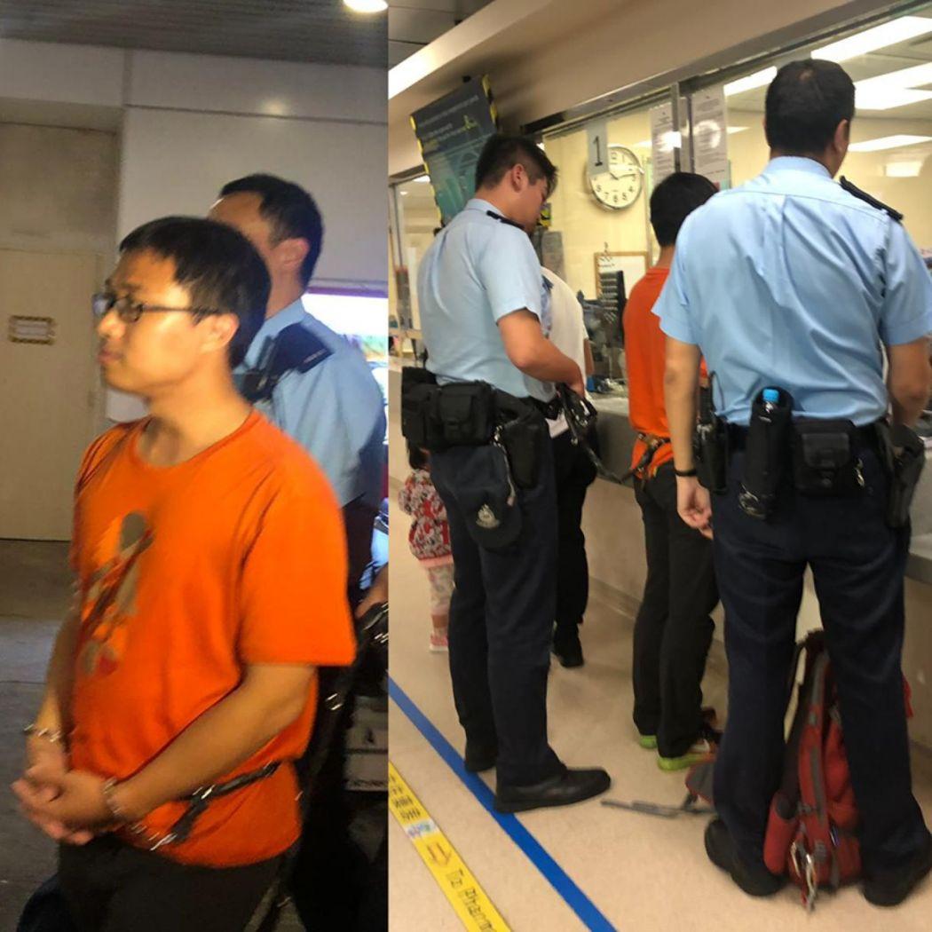 photojournalist Joey Kwok Stand News arrested