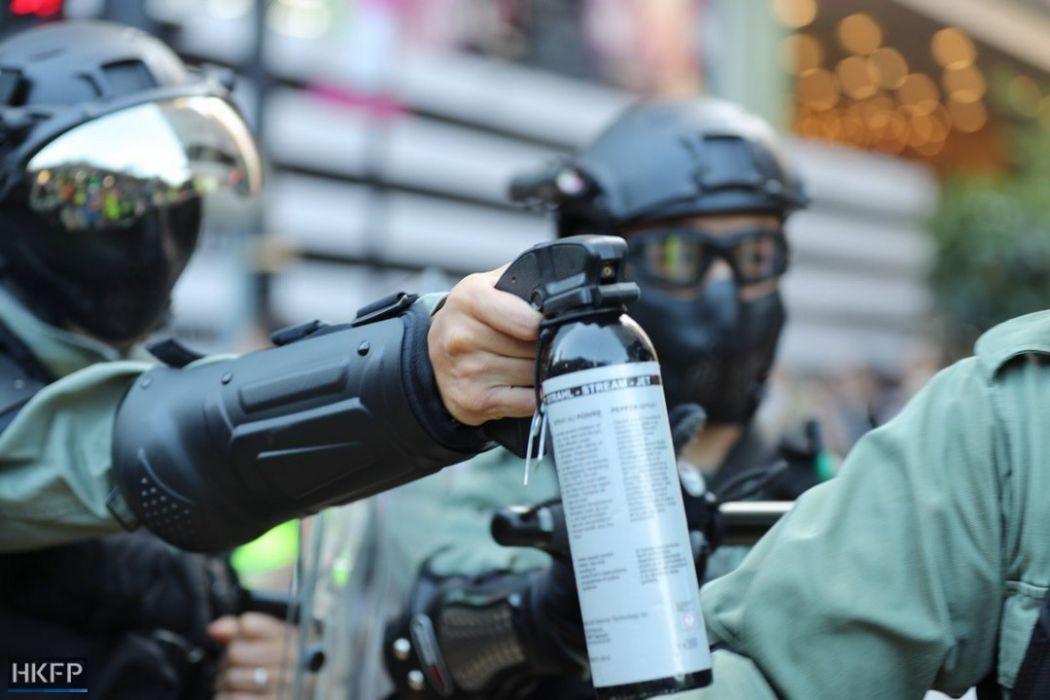 pepper spray november 2 island
