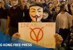 november 5 guy fawkes mask v vendetta Tsim sha tsui