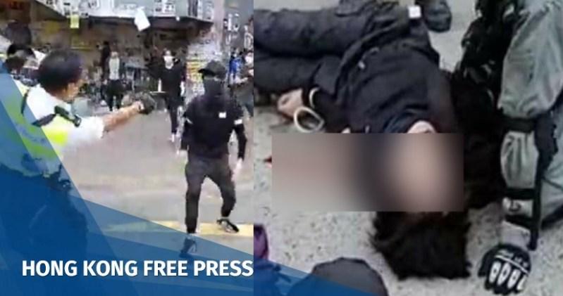 hong kong police shooting
