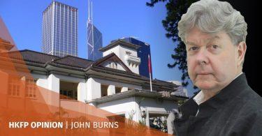 John Burns government house