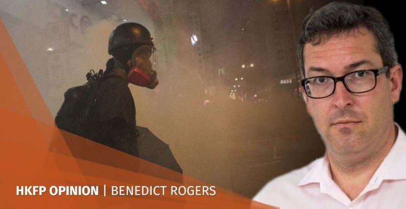 benedict rogers protests