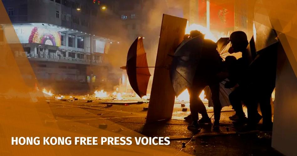 hong kong revolution