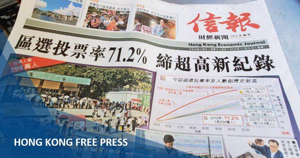 economic journal district council election media roundup