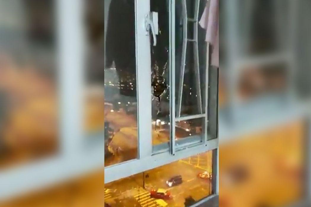 shatin tear gas window fifth floor