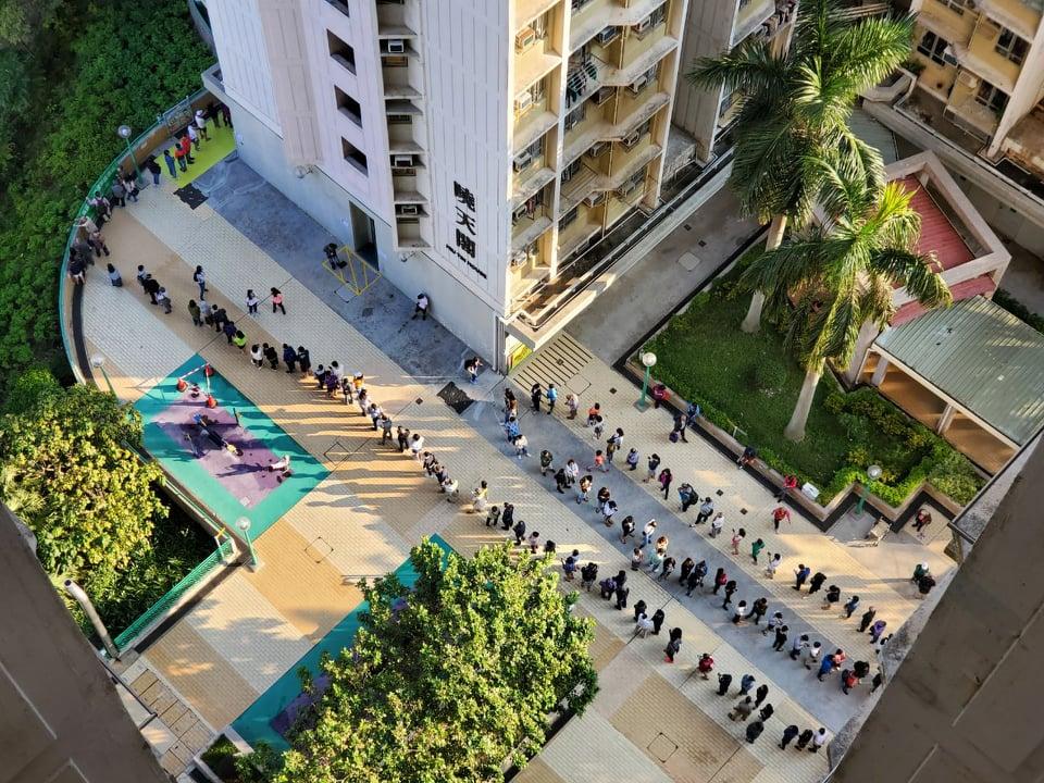 district council queues