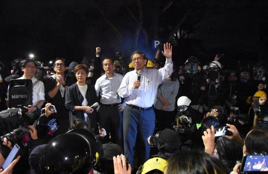 Rocky Tuan cuhk chinese university november 12