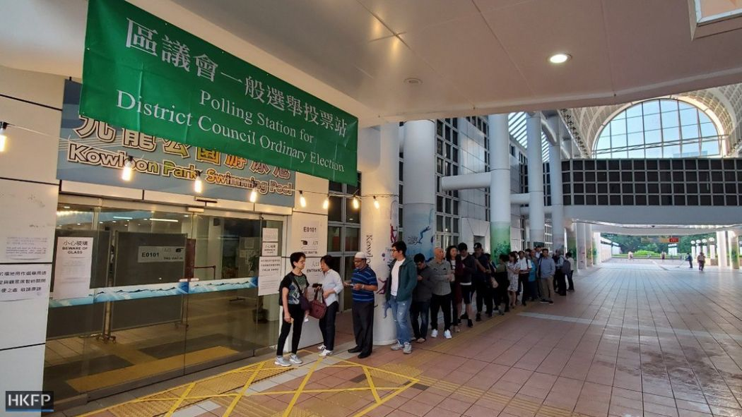 Pro-democracy opposition wins landslide in Hong Kong elections