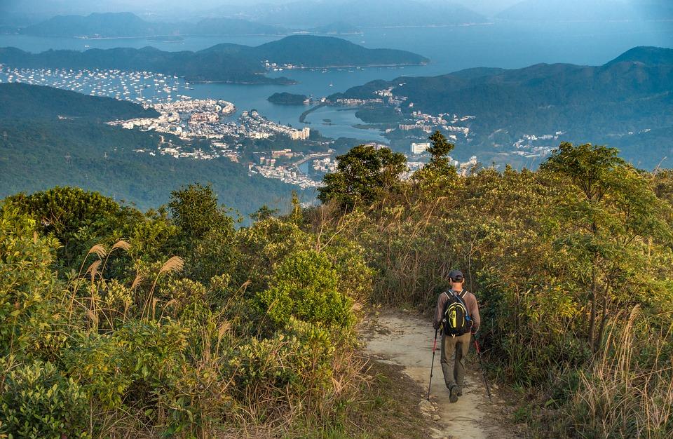 Hiking trail Hong Kong