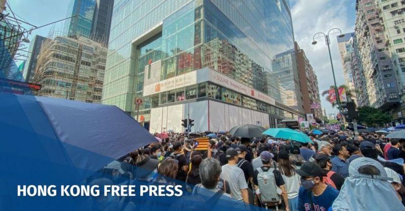 Hong Kong city protests