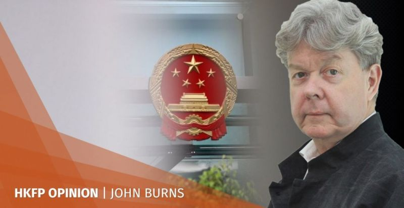 John Burns One Country Two Systems Hong Kong China