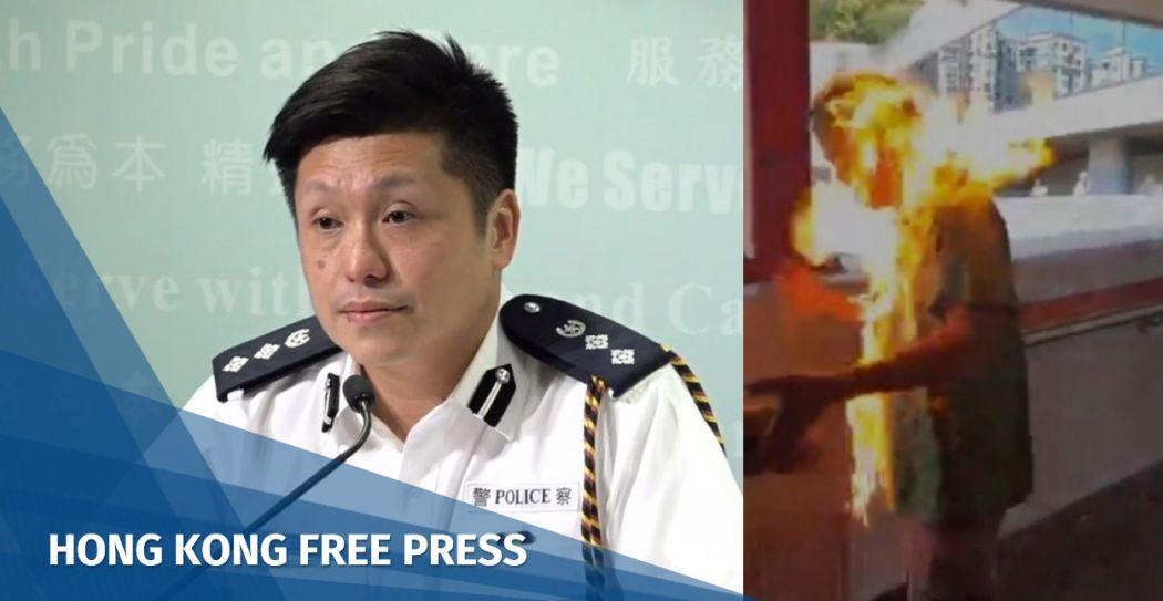 John Tse fire man Ma On Shan