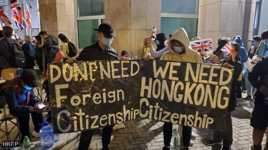 Protesters march to up pressure on Hong Kong government