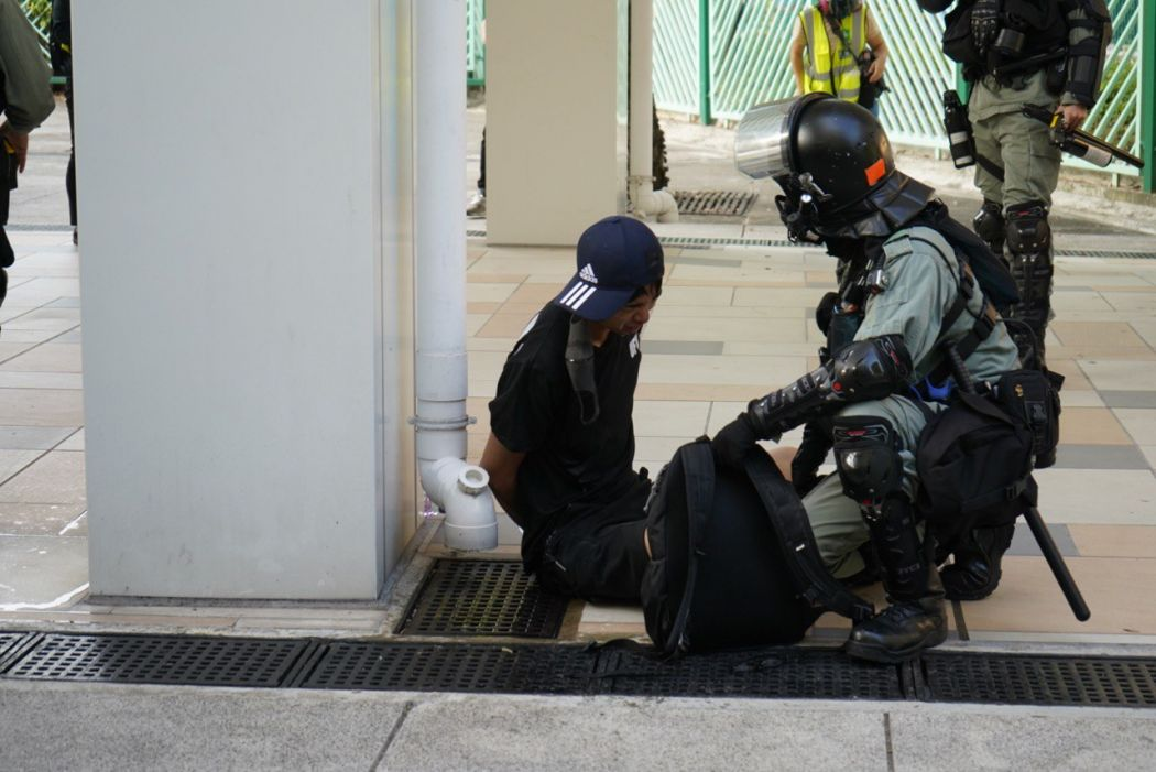 """""""November 10"""" Sha Tin arrest"""