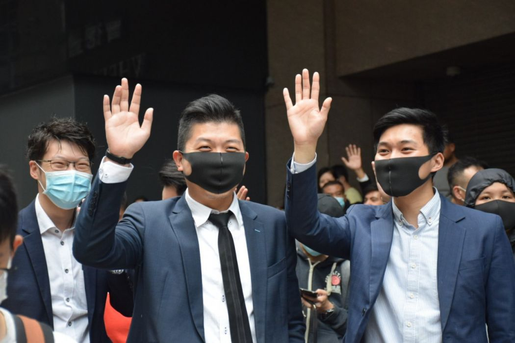 """""""November 12"""" Hong Kong Central protest office workers"""