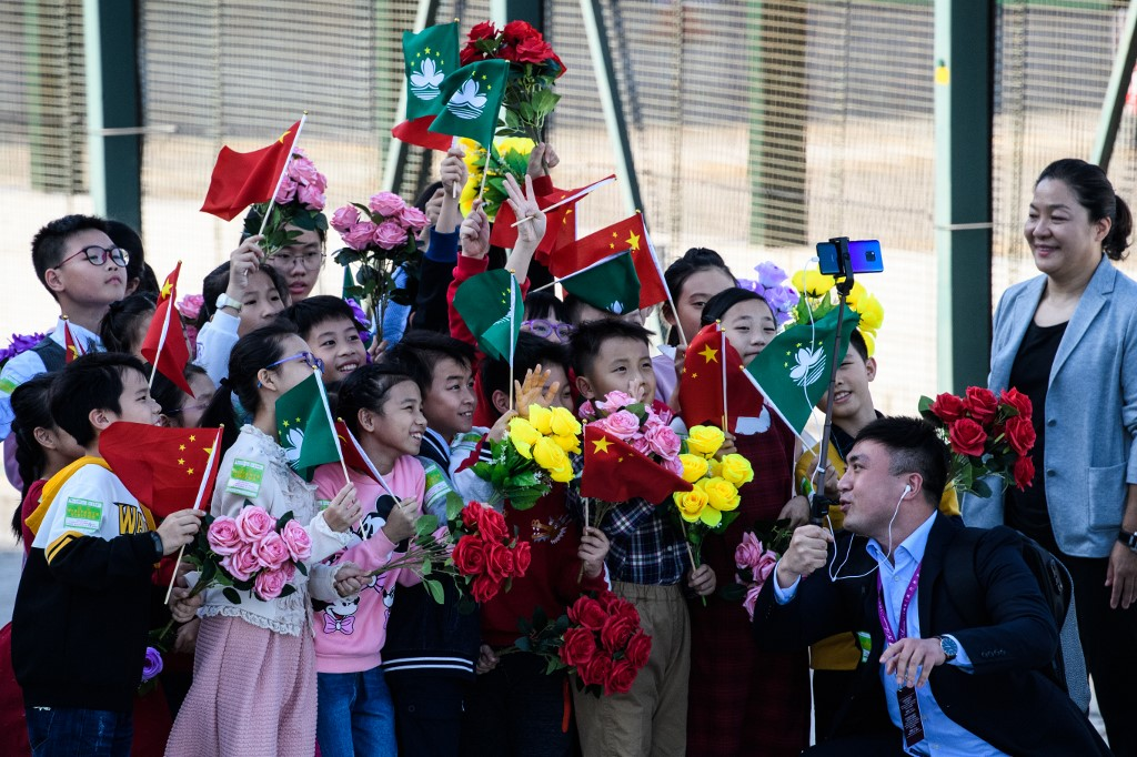 Macau China President Xi Jinping 20th anniversary handover