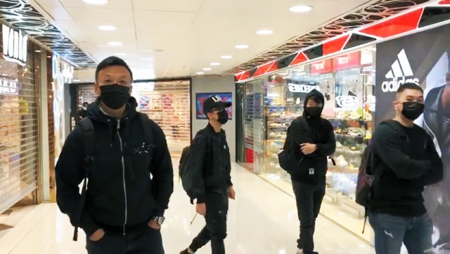 undercover police cop december 28 mall