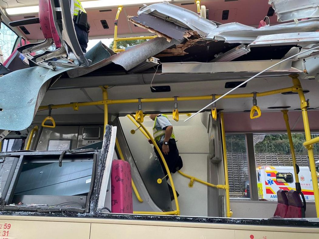 kwu tung bus crash sheung shui