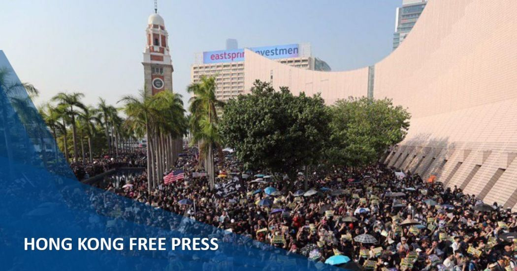 In Pictures: Hong Kong police fire tear gas in Whampoa, Tsim Sha Tsui and Mong Kok, disrupting protest calm | Hong Kong Free Press HKFP