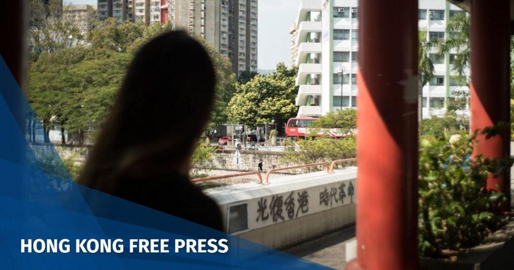 Hong Kong protester May