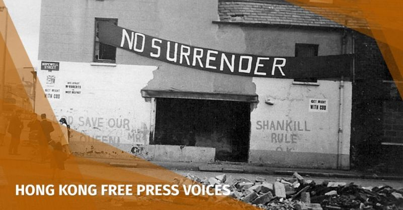 Northern Ireland Belfast Troubles